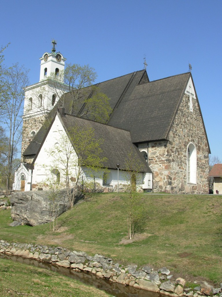 The Church of the Holy Cross / Jołka / WikiCommons