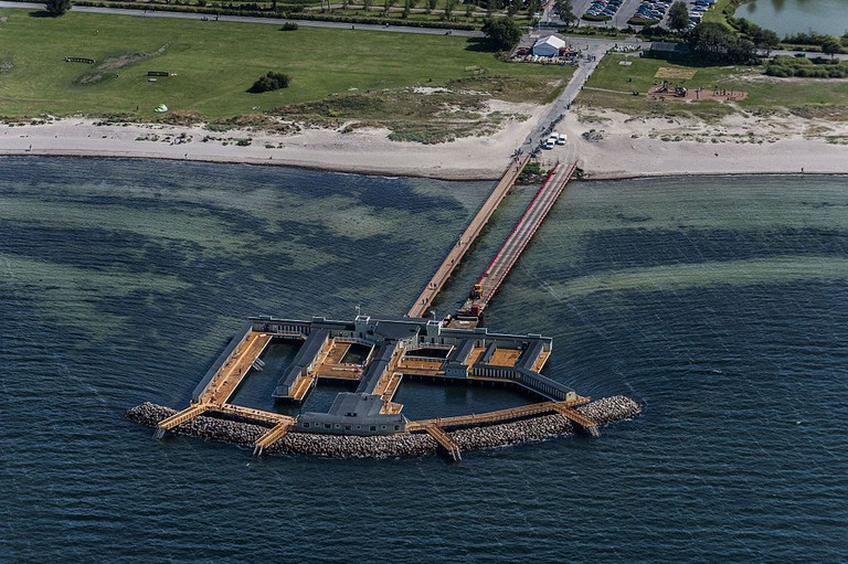 Ribersborgs beach and bath house are a jewel in Malmö's crown / Photo courtesy of Wikipedia Commons
