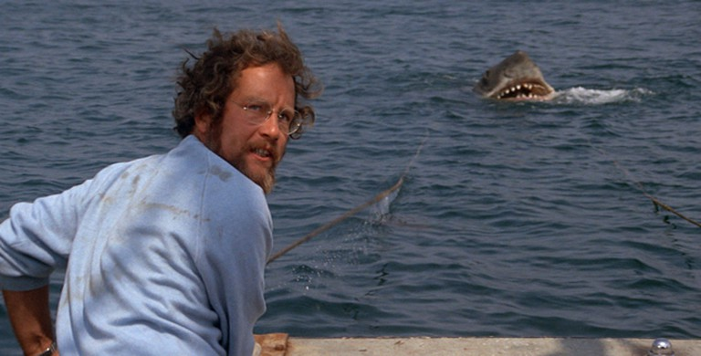 Richard Dreyfuss in Jaws (1975) | Courtesy of Universal Pictures