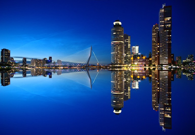 Rotterdam is renowned for its modern architecture