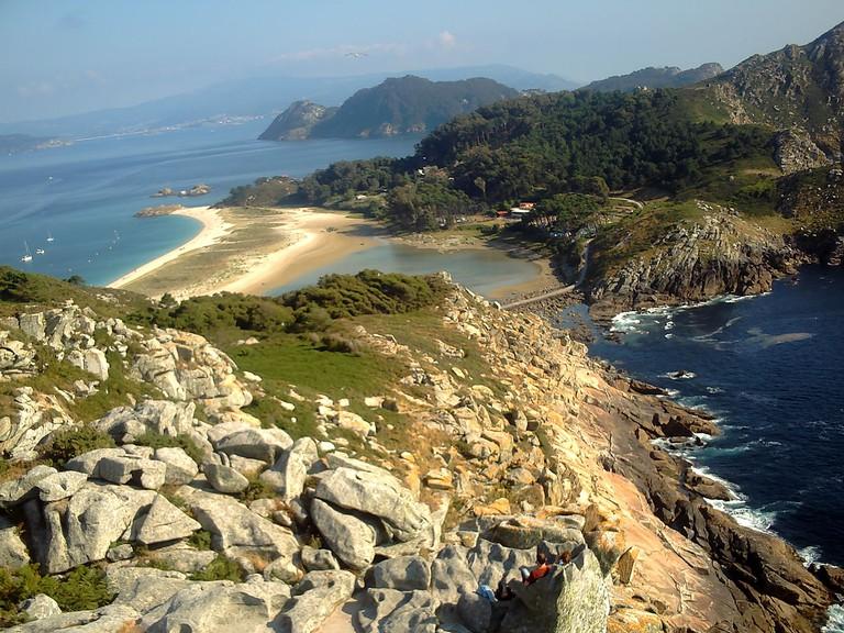 Ruta de O Alto do Principe, Islas Cíes, Galicia