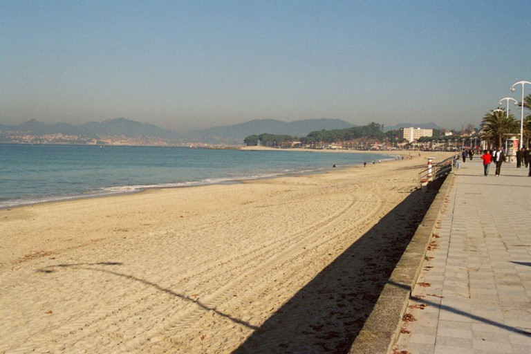 Samil Beach, Vigo | ©JMSE / Wikimedia Commons