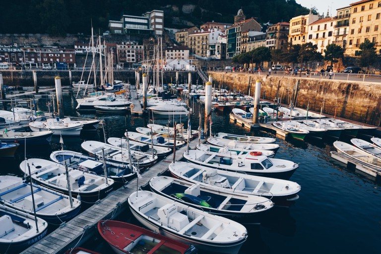 San Sebastian port