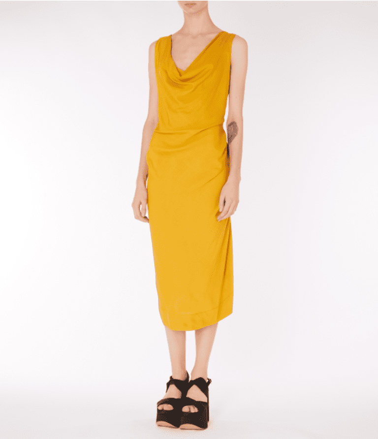 Vivienne Westwood Gold Virginia Dress, £295