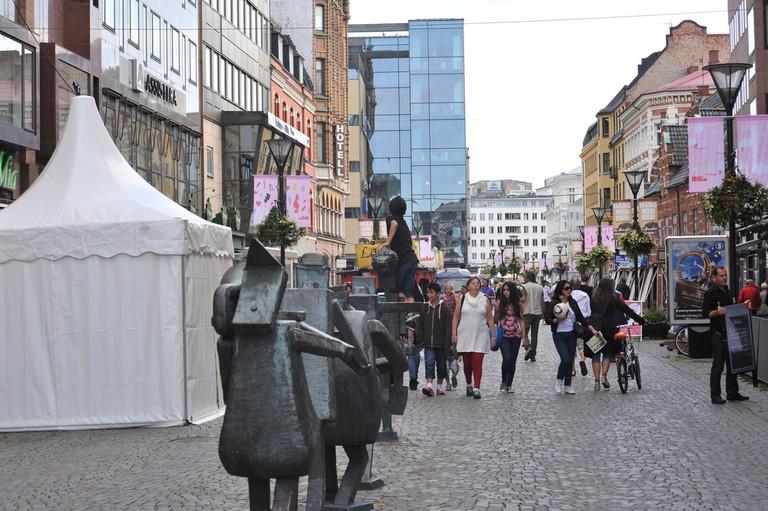 Södergatan has everything a keen shopper could desire