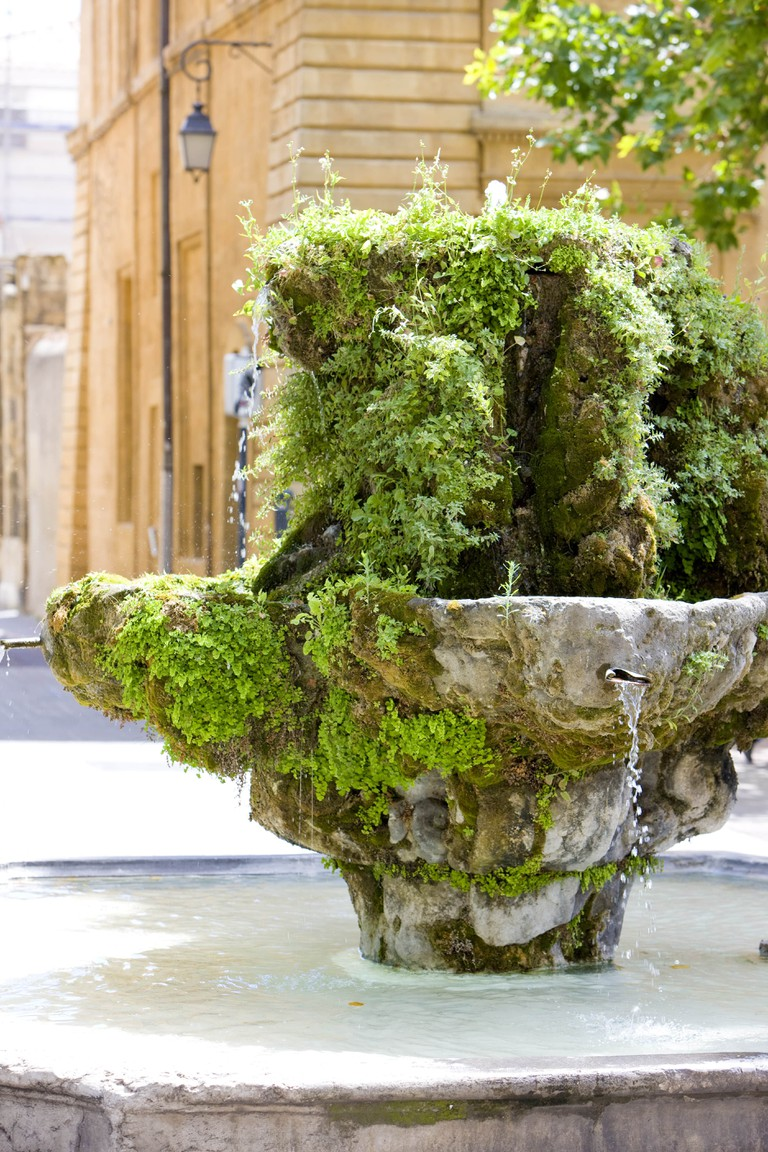 Aix is as well known for its fountains, as well as its warm weather