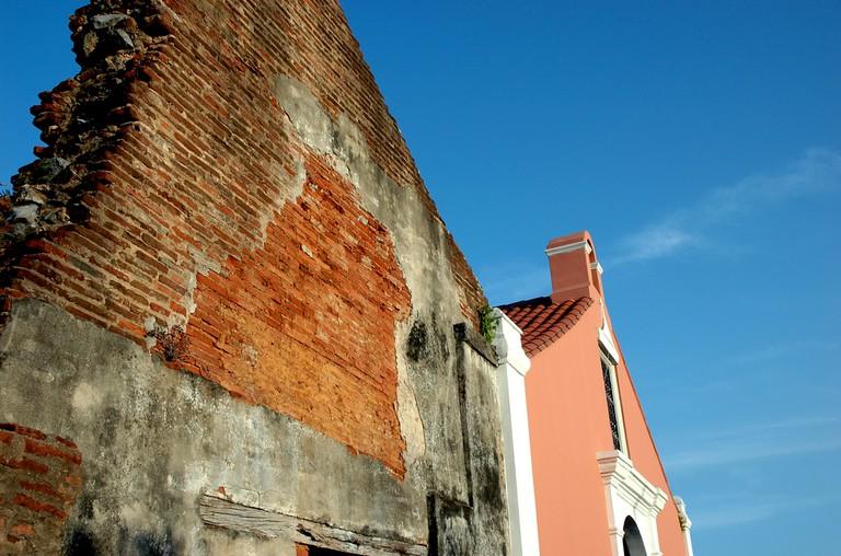 Porta Coeli Church side view