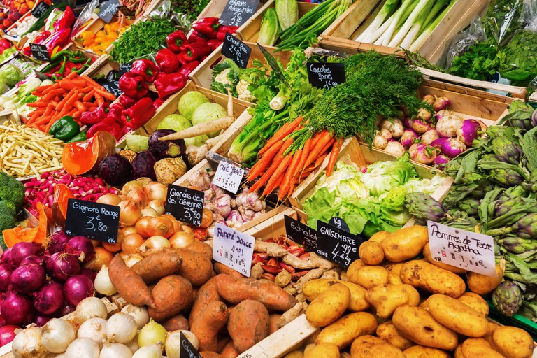 Provence has many exceptional food markets