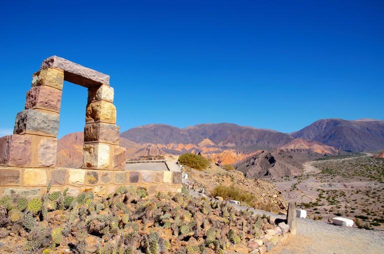 Pre-Incan ruins at Pucara de Tilcara