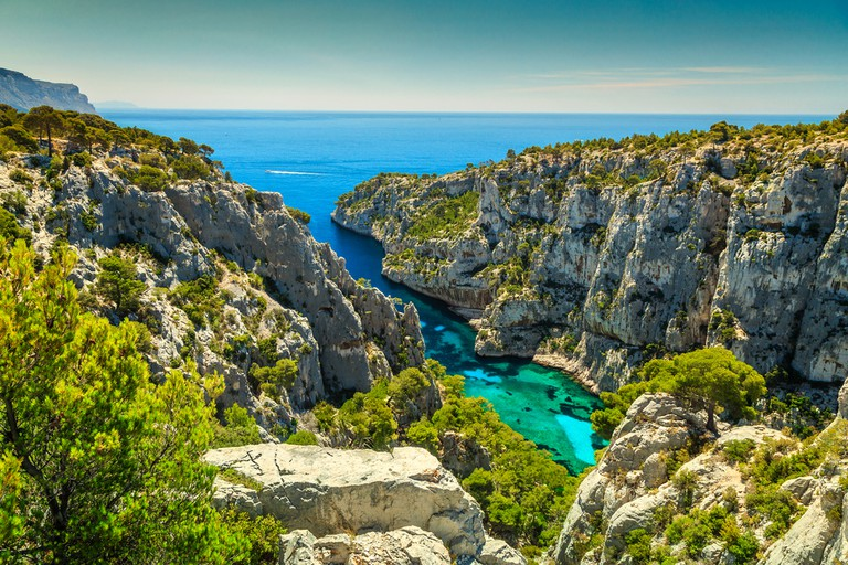 The Calanques are one of France's natural wonders