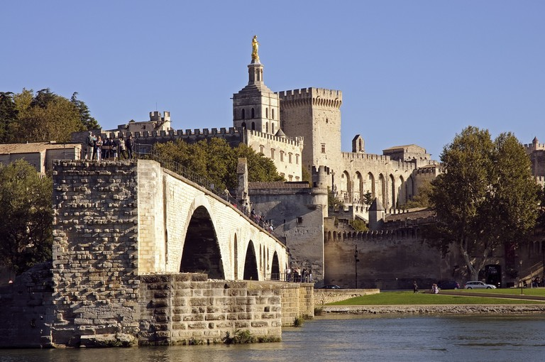 The Pope's Palace in Avignon is just one example of the wonderful buildings in the region