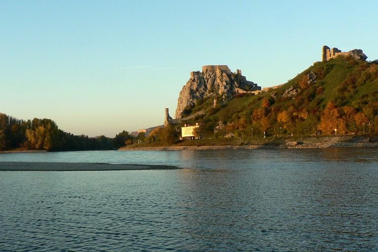 Devin Castle on the Danube.