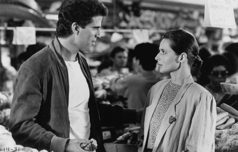 Ted Danson and Isabella Rossellini
