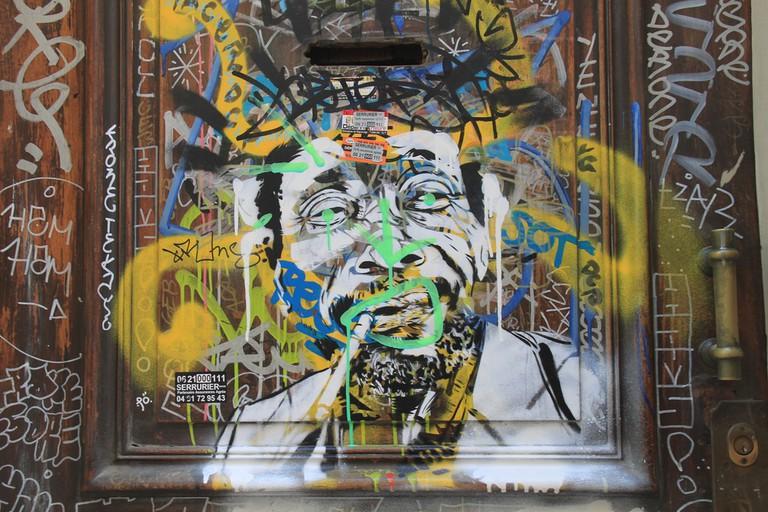 Marseille, Street art, C215g