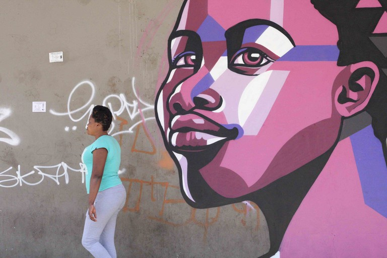 Maboneng is a cultural hub with street art covering walls and buildings around almost every corner of the neighbourhood