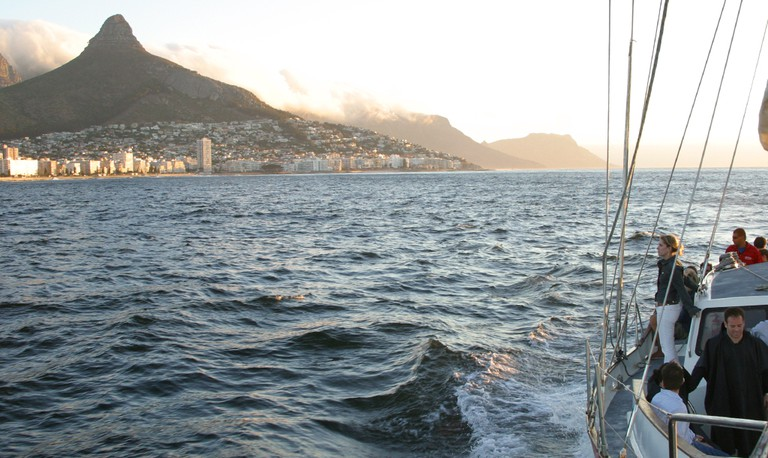 Sunset Boat Cruise on Cape Town Harbour