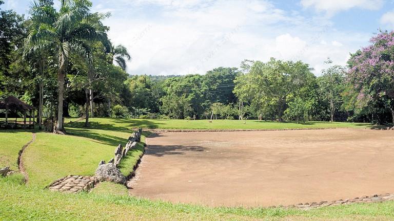 Taino grounds in Puerto Rico