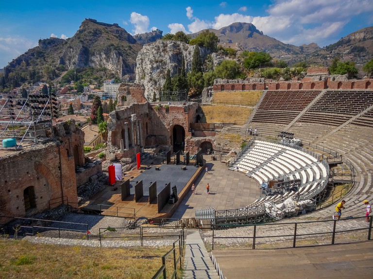 Taormina Sicily - Greek Theatre©Michael Button:Flickr