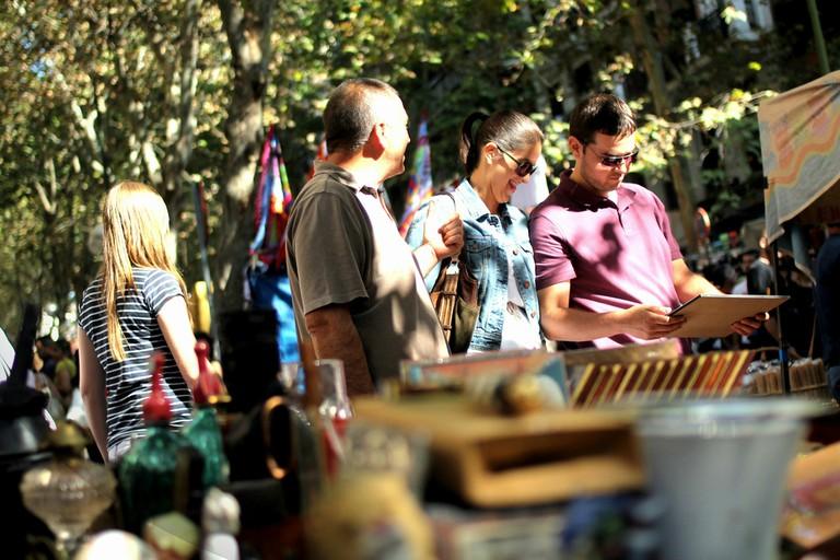 Madrid's Rastro market
