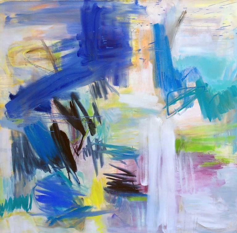 Wild Weather oil on canvas /