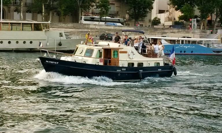 Un bateau à Paris │© Un bateau à Paris, Courtesy of GetMyBoat