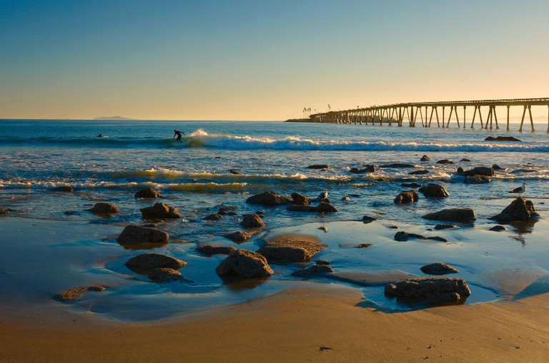 California coast in Ventura | © Harold Litwiler / Flickr