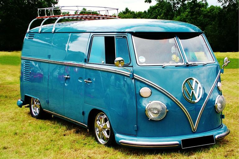 vintage RV camper / (c) Pixabay