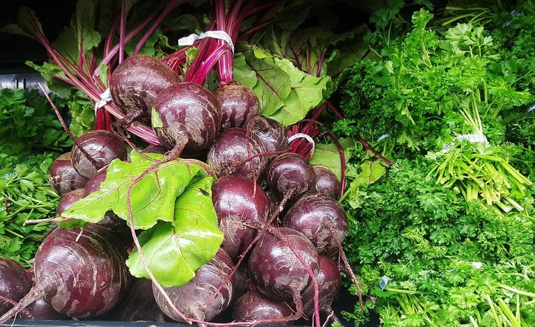 Fresh veg at Farmers Own Market