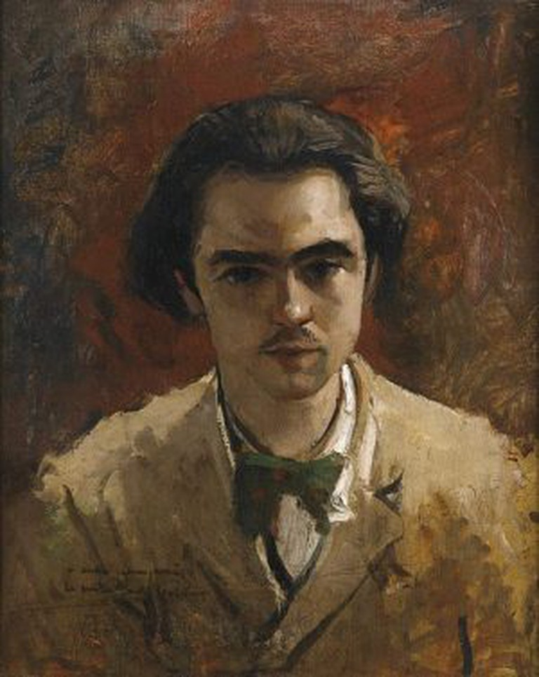 Verlaine by Frederic Bazille (1867)