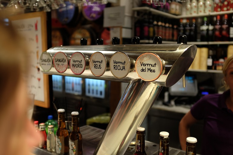Vermouth taps