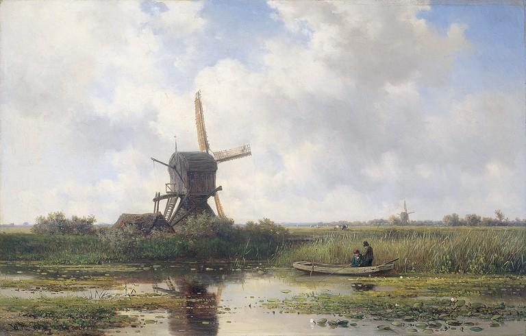 Willem Roelofs: Gein bij Abcoude, 1870- 1897