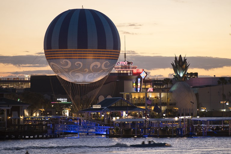 Characters In Flight: Disney's Hot Air Balloon Ride