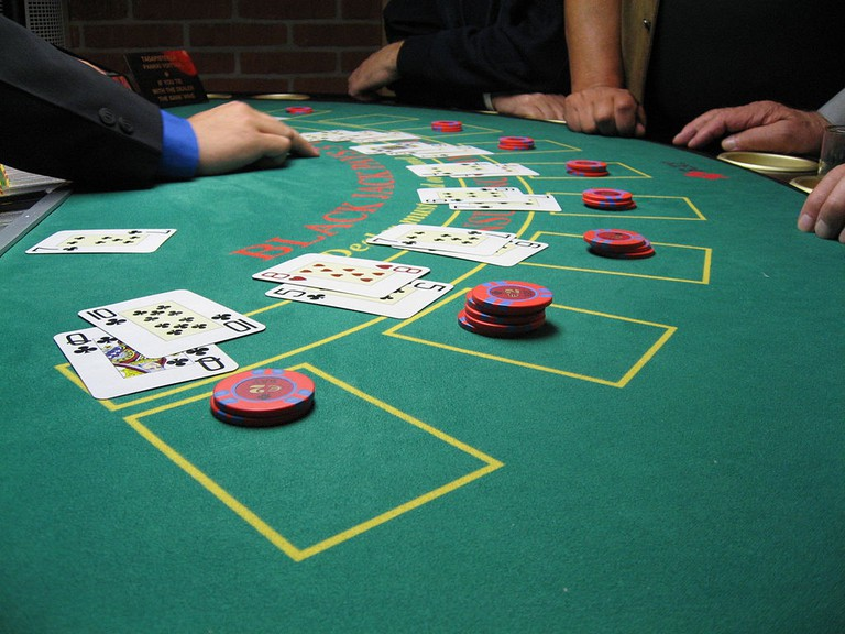 Be mindful of your behavior at the black jack table