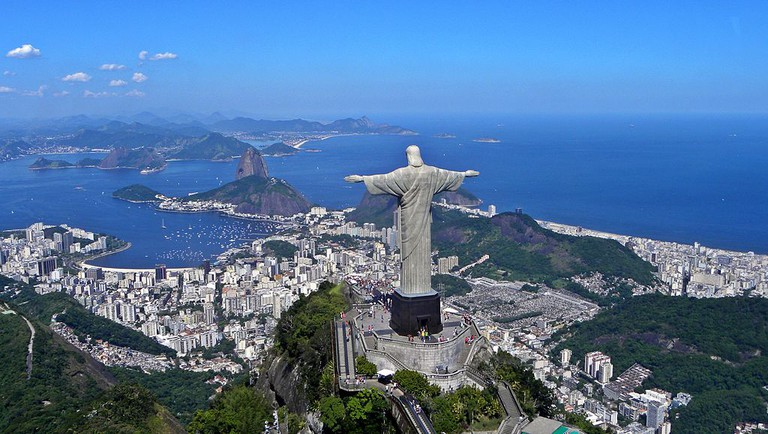 Christ the Redeemer on top of Corcovado |©Artyominc/WikiCommons
