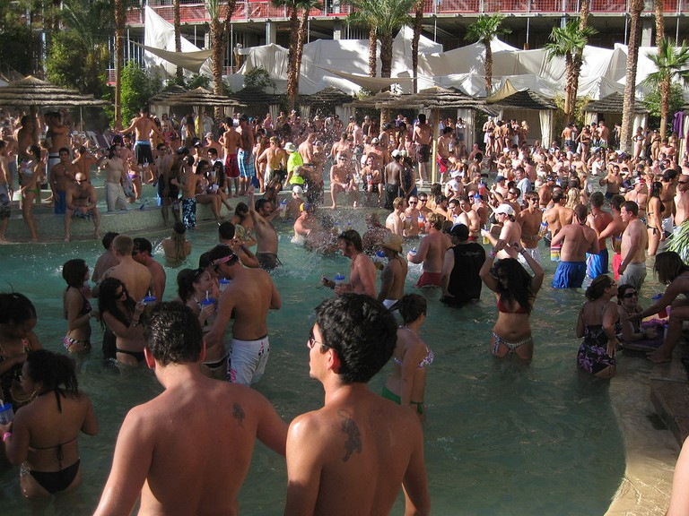 Pool party at the Hard Rock Las Vegas