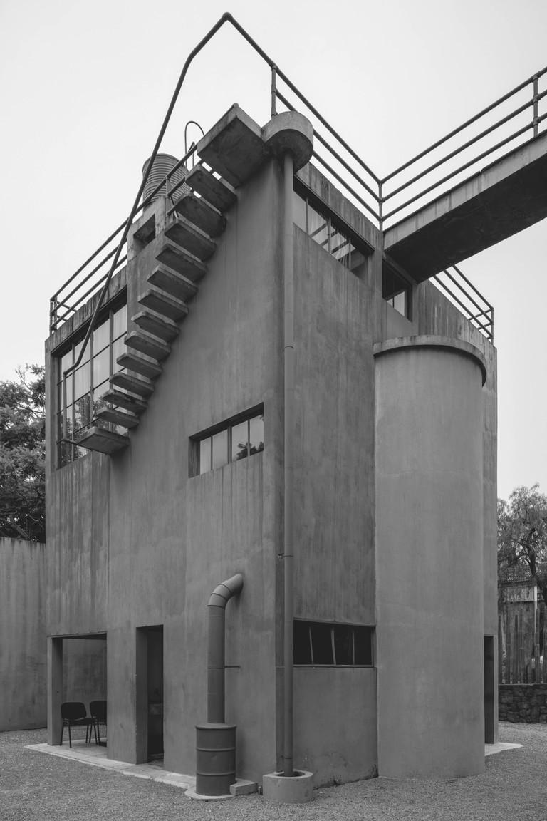 Juan O'Gorman: House and Studio for Frida Kahlo and Diego Rivera, Mexico City, Mexico, 1932