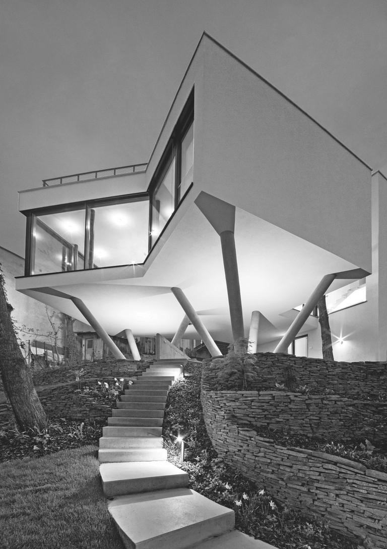 Šebo Lichý Architects: House Among the Trees, Bratislava, Slovakia, 2013