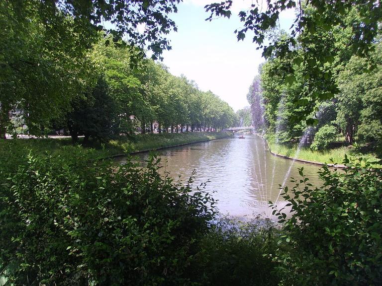 Stadsbuitengracht near Zocherpark