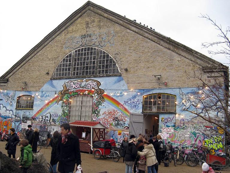 Freetown Christiania-pusher street-copenhagen-denmark