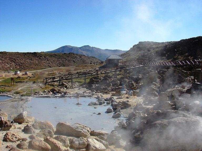 Copahue hot springs
