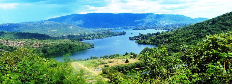 Volta Lake From the Saint Barbara Church