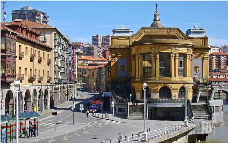 La Ribera Market, Bilbao, before its reforms | ©Jean-Pierre Dalbéra / Wikimedia Commons