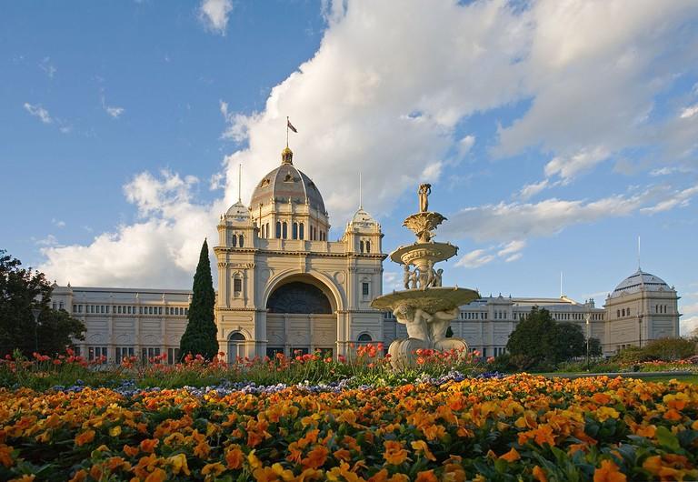 Royal Exhibition Building Tulips