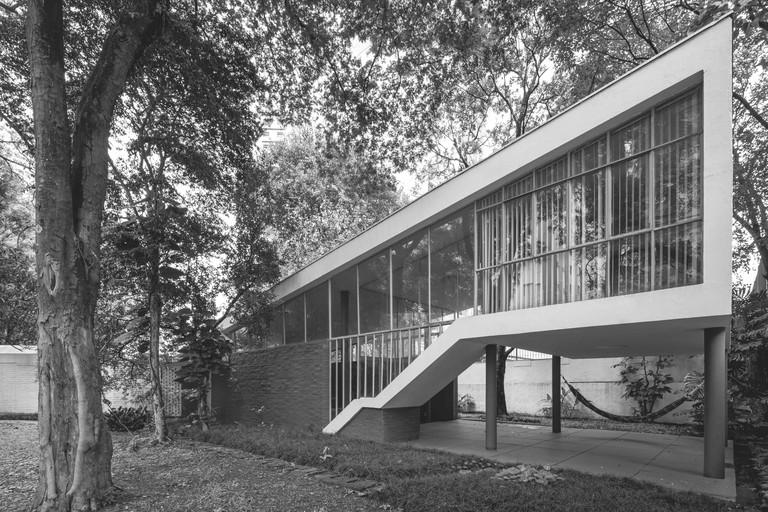 João Batista Vilanova Artigas: Casa Vilanova Artigas, São Paolo, Brazil, 1949