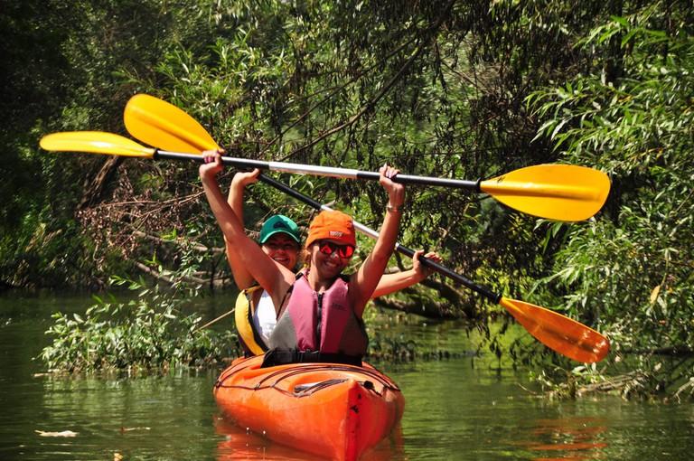 Kayaking in Kamchia River