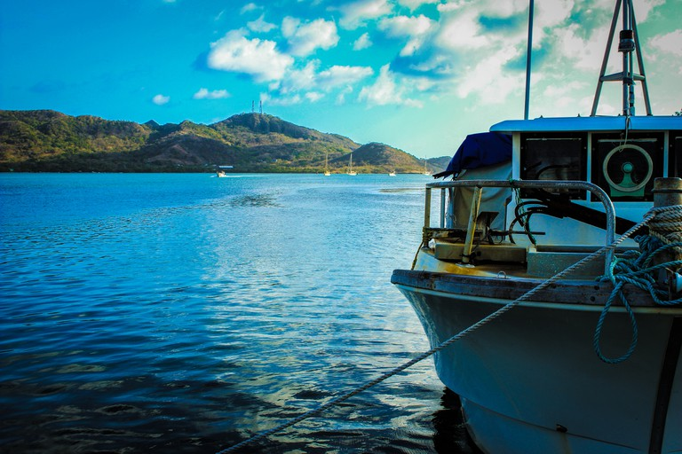 Travelling to Providencia by boat – not this one! – is also an option