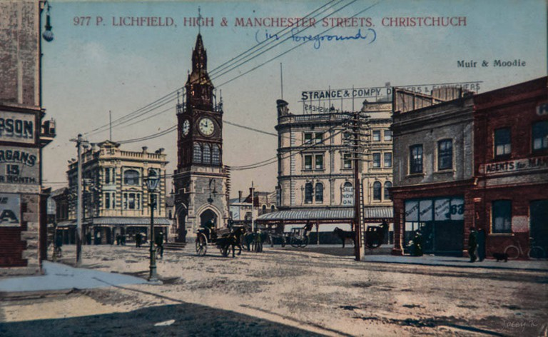 An Old Post Card From Christchurch