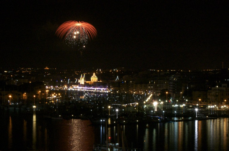 Malta Fireworks Festival | © bay_dragon/Flickr