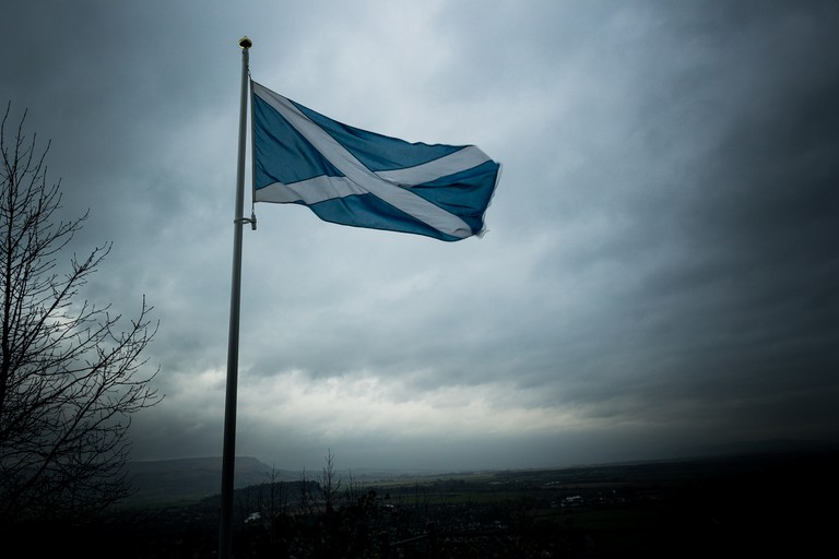 Scottish Flag | © Alasdair/Flickr