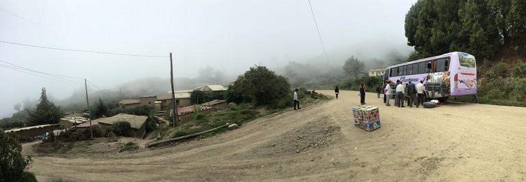 Cochabamba to Samaipata road